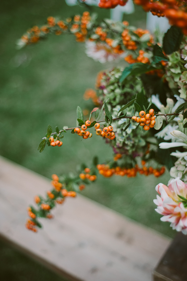 perfect fall arrangement | a daily something: Gathering with Friends for a Cause