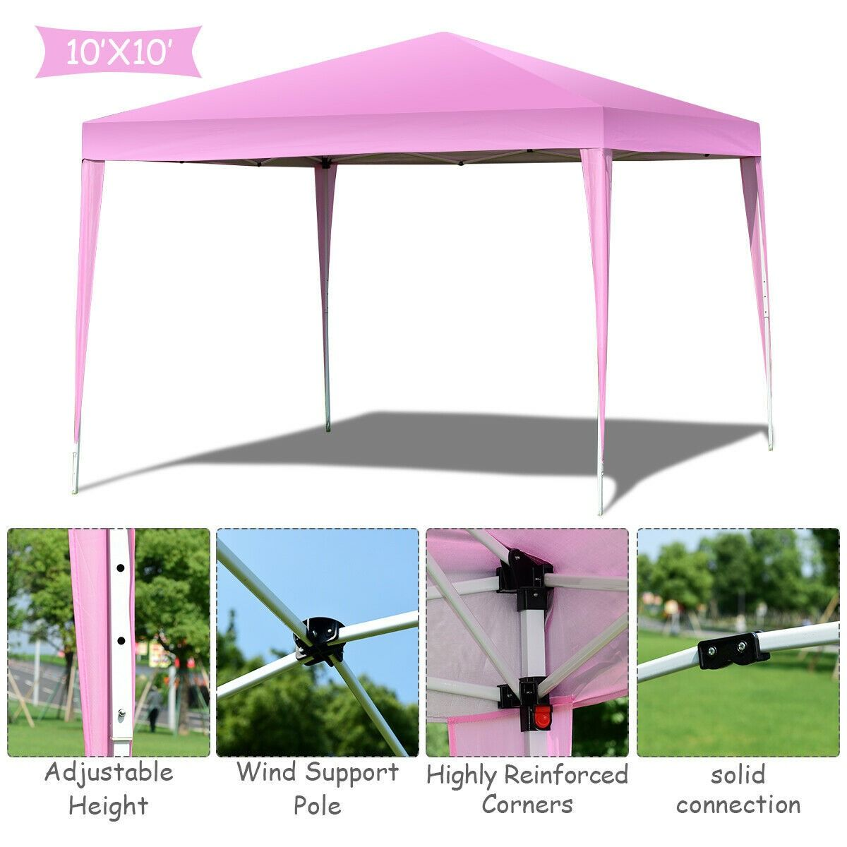 Outdoor Foldable Portable Shelter Gazebo Canopy Tent Canopy Tent