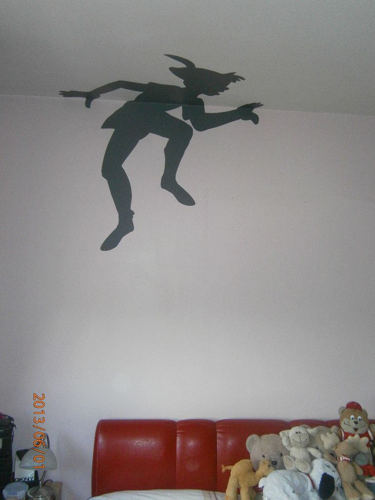 Peter Pan's Shadow Wall Sticker | Pirate dining room ...