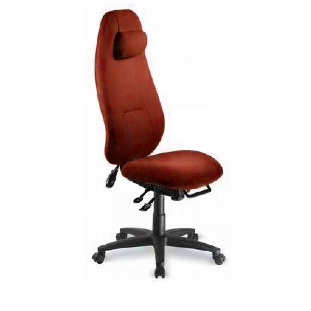 High Back Office Chair No Arms