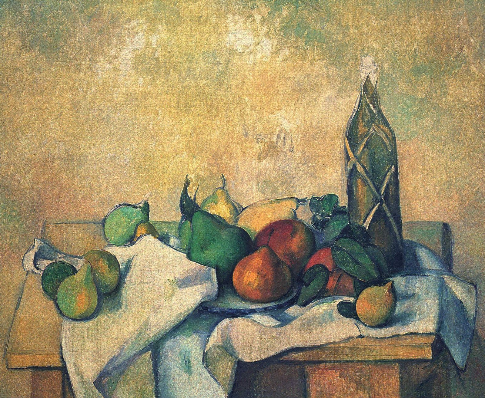 Still Life, 1895.  Paul Cezanne