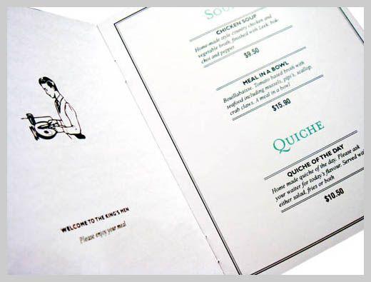 cafe menu design 01