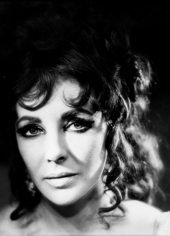 Elizabeth Taylor photographed by Angus McBean for Doctor Faustus (1967).