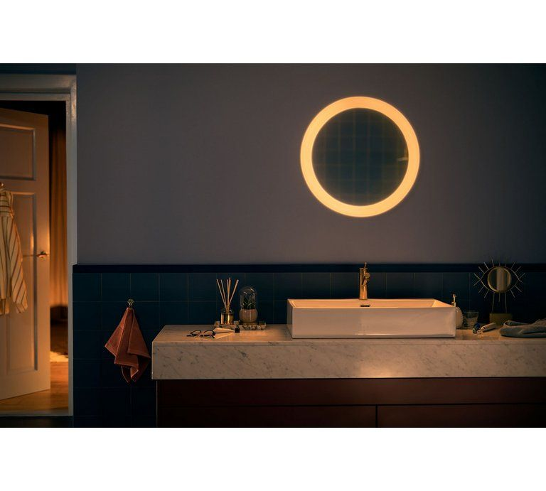 Philips Hue Adore Wall Lamp Chrome Home Lighting Design Home