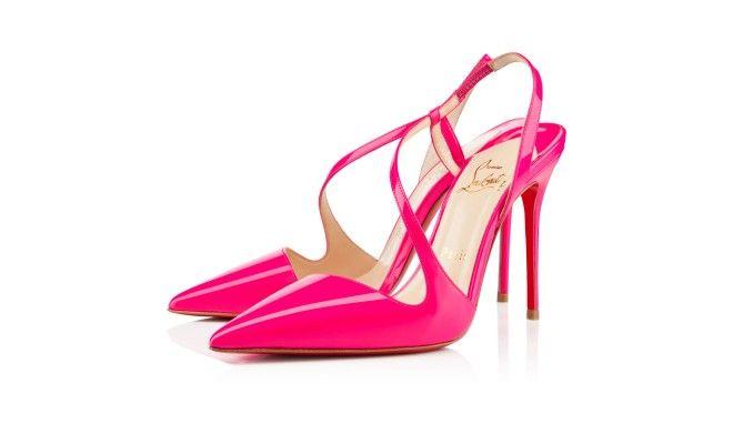 JUNE PATENT FLUO 100 mm, Patent leather, Rose Matador, Women Shoes