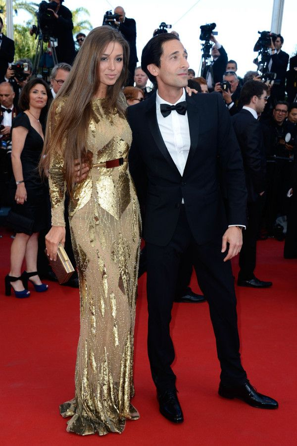 Fabulously Spotted: Adrien Brody Wearing Burberry - 'Cleopatra' 2013 Cannes Film Festival Premiere - http://www.becauseiamfabulous.com/2013/05/adrien-brody-wearing-burberry-cleopatra-2013-cannes-film-festival-premiere/