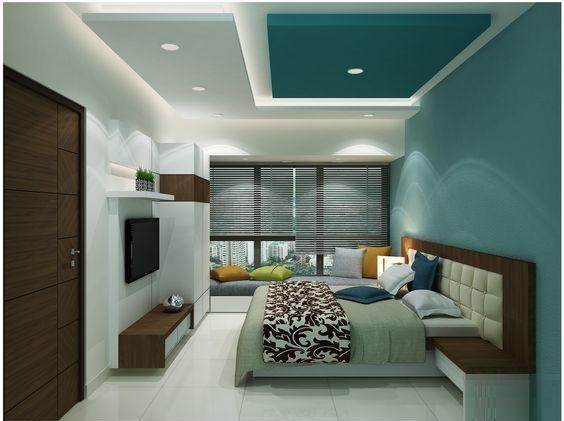 Latest Plaster Of Paris Ceiling Designs For Modern Living Room