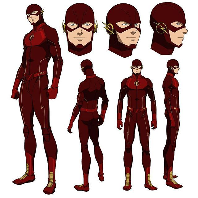 Character Design In Flash : Flash model sheet from our vixen web series on cw seed