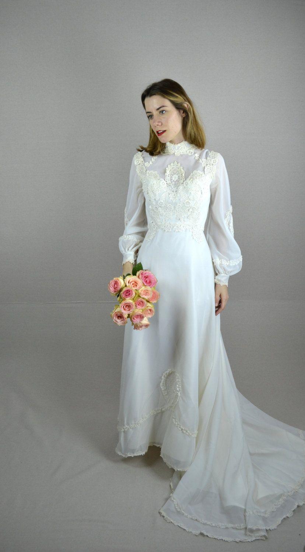 Pin by Ella Stubbs on wedding dress idea 1970s wedding