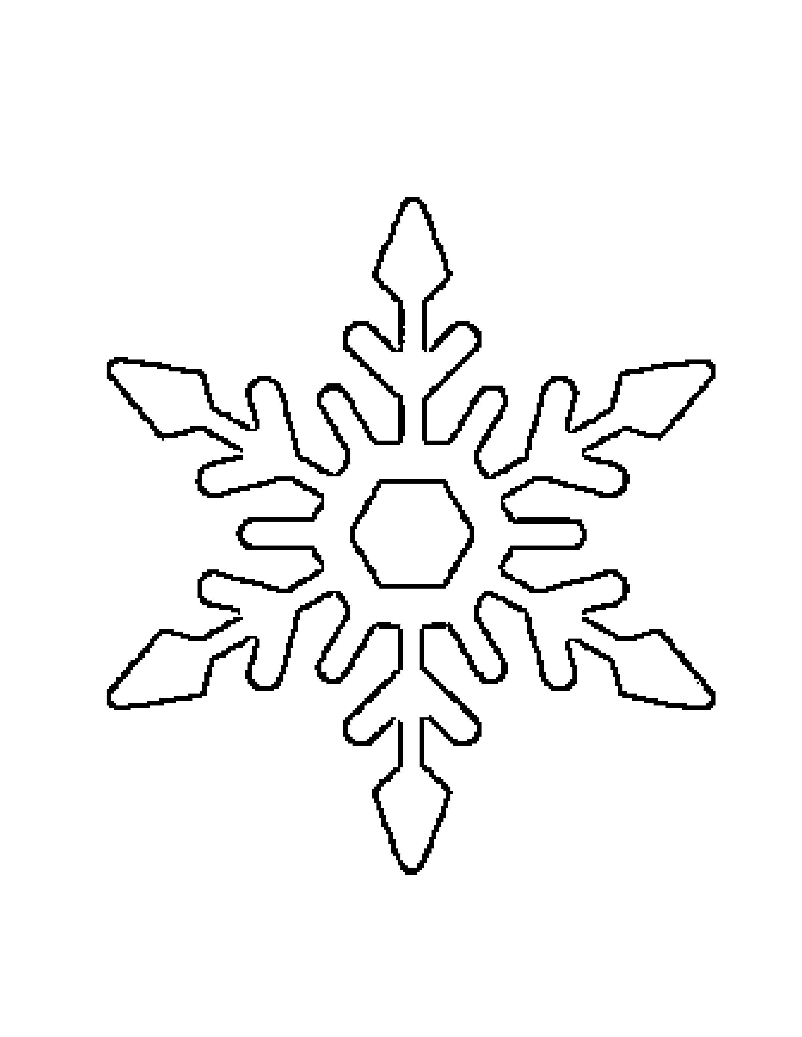 Детей, открытки снежинки шаблоны