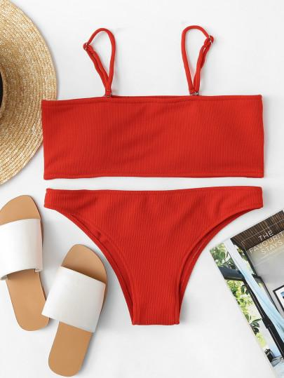 detachable straps bikini set. #borntowear #fashion #tops #swimwear