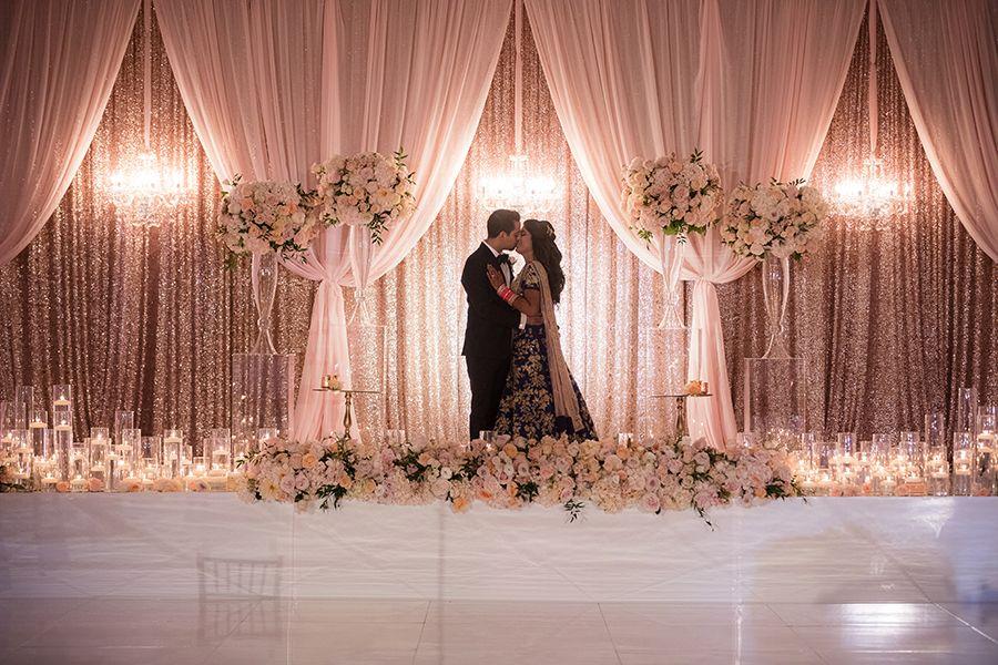 Lavish Traditional Indian Wedding Strictly Weddings Indian Wedding Flowers Wedding Stage Backdrop Traditional Indian Wedding