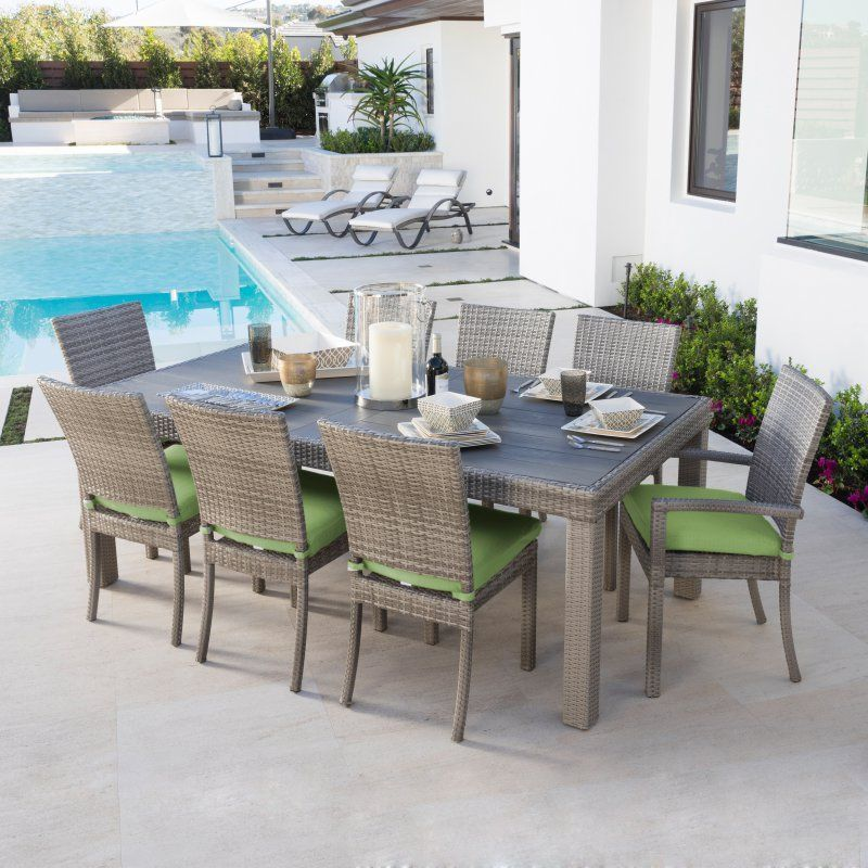 24++ Rst brands cannes 9 piece dining set Various Types