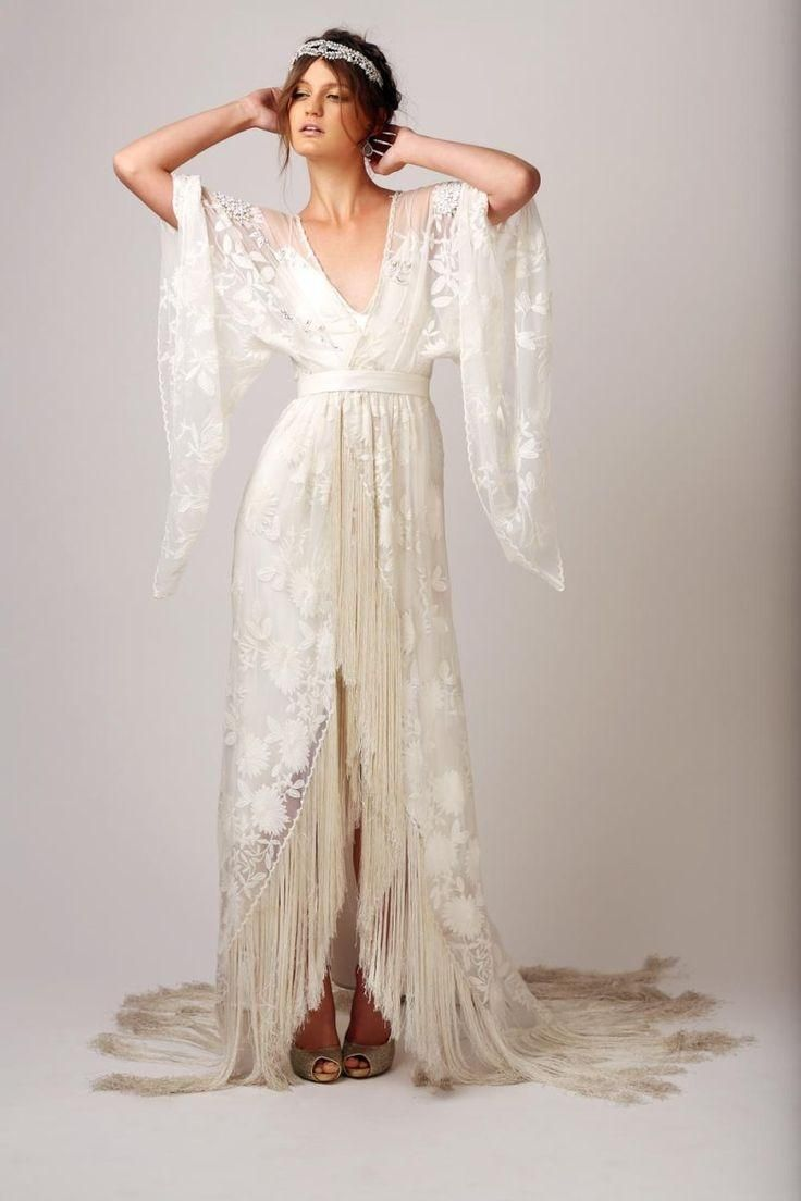 White Cotton and Silk with Beading and Embellishments   Rue de seine ...
