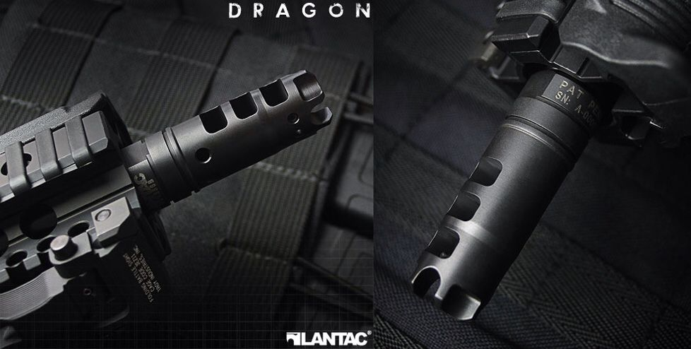 Lantac dragon muzzle brake