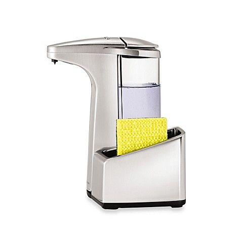 Best Simplehuman® Dish Soap Sensor Pump With Caddy 400 x 300