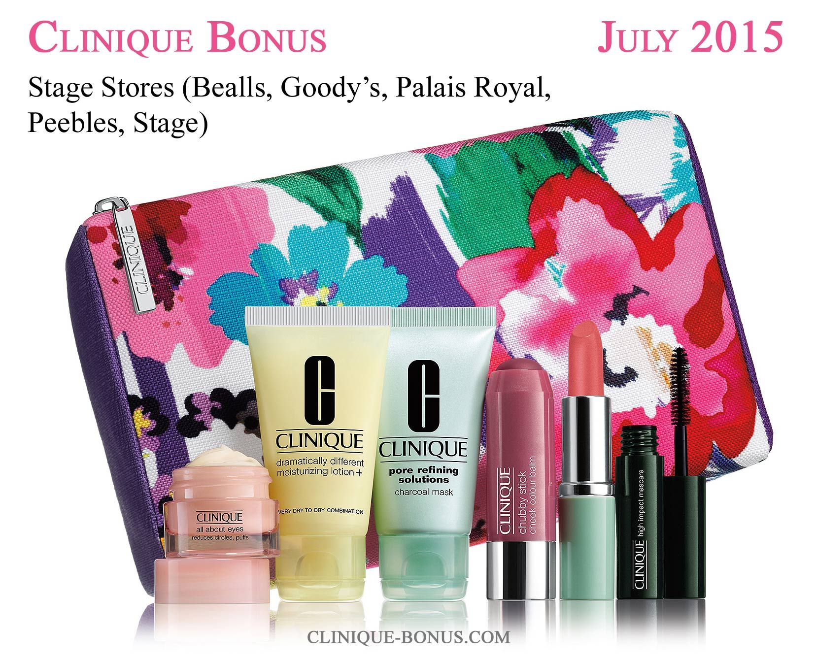 Other stores with Clinique bonus in United States