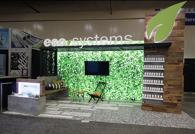 Eco Systems Sustainable Exhibits Booth Exhibition Booth Design Exhibition Design Street Marketing