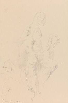 Gustav Vigeland, «Seks svevende mennesker»
