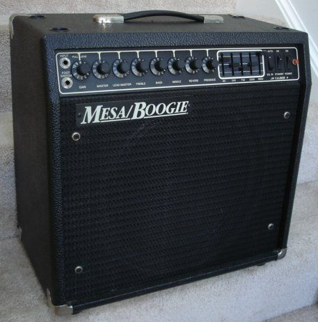 Mesa Boogie 50 Caliber Plus This Was The Baddest Amp I Ever