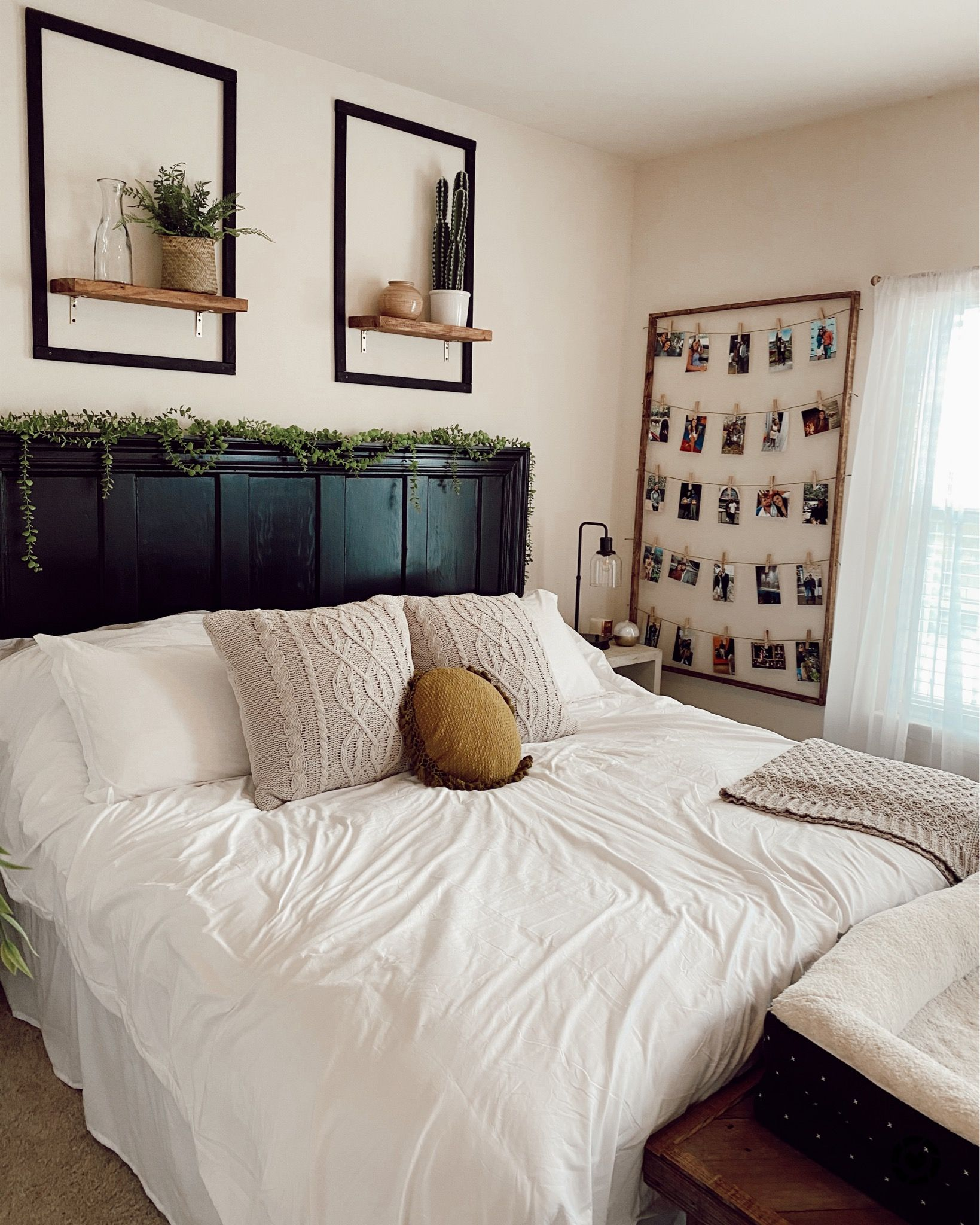 Boho modern Target and Shein built His and Her bedroom in ...