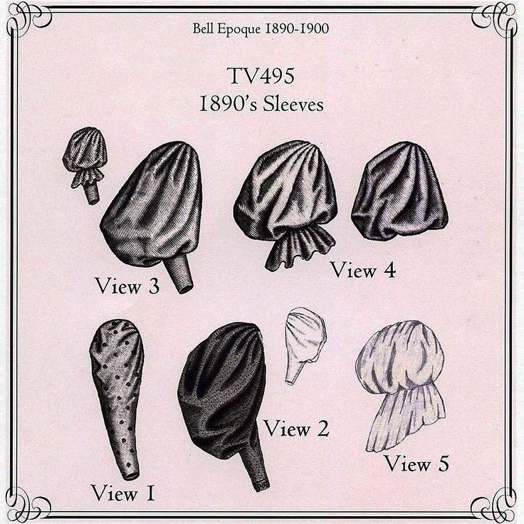 Znalezione obrazy dla zapytania puff sleeves history