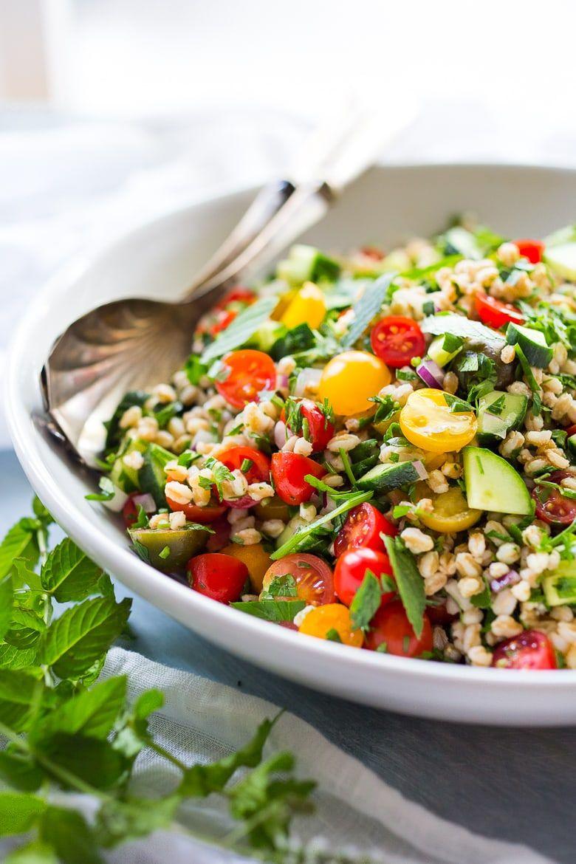 Farro Tabbouleh Salad