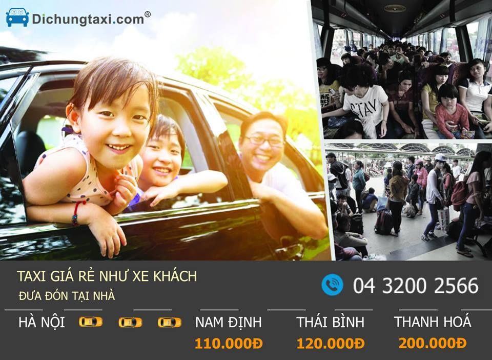 Đi chung Taxi đường dài hàng ngày