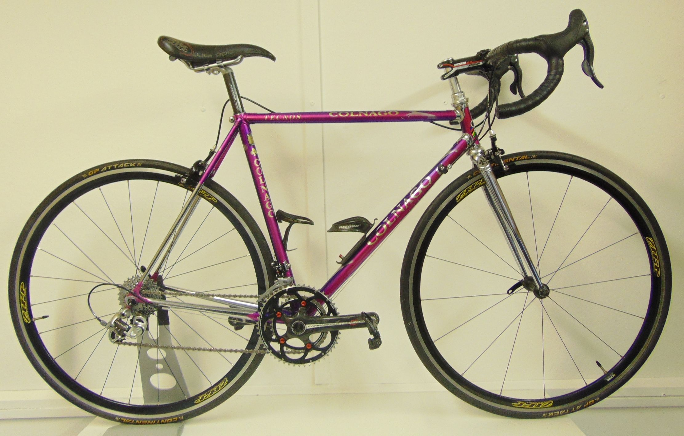 Colnago Tecnos 52cm Campagnolo Groupset Post Modern Build Cycling Weekly Colnago Retro Bike Used Bikes
