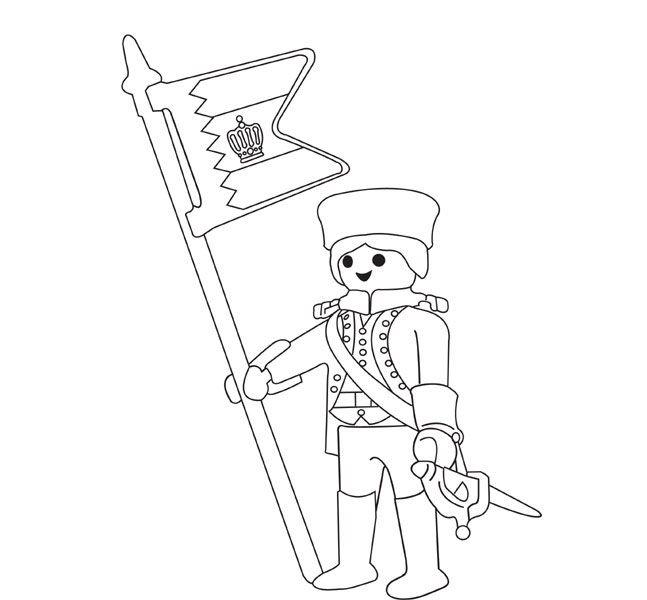 Coloriage Chevalier Playmobil Gratuit.Coloriage Playmobil Soldat Playmobil Playmobil Coloring Pages