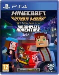 Gra Minecraft Story Mode The Complete Adventure Ps4 Sklep