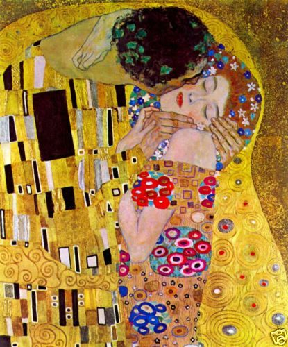 The-Kiss-by-Gustav-Klimt-Giclee-Fine-Art-Print-Reproduction-on-Canvas