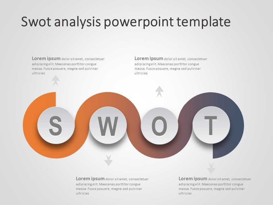 Swot Analysis Powerpoint Template Help You Show Strength Weakness Opportunities And Threats Of An I Swot Analysis Template Swot Analysis Powerpoint Templates
