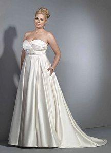 1bf3b09a7fe90 Robe de mariée à A-ligne décolletée en coeur Persun   Robe de mariée ...