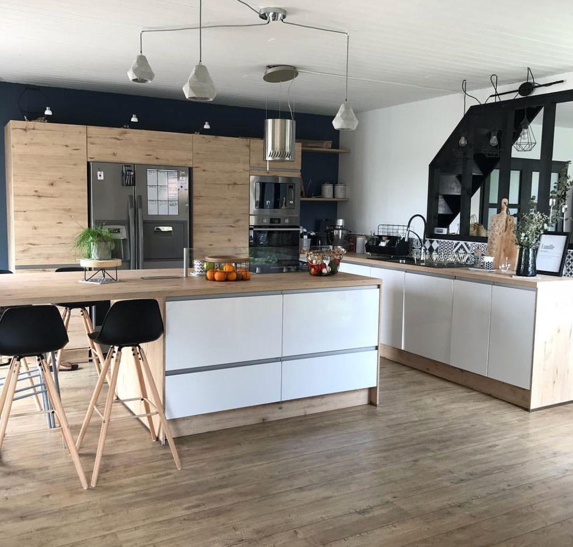 Pin von Marina Lefevre auf Construction maison   Wohnung küche ...