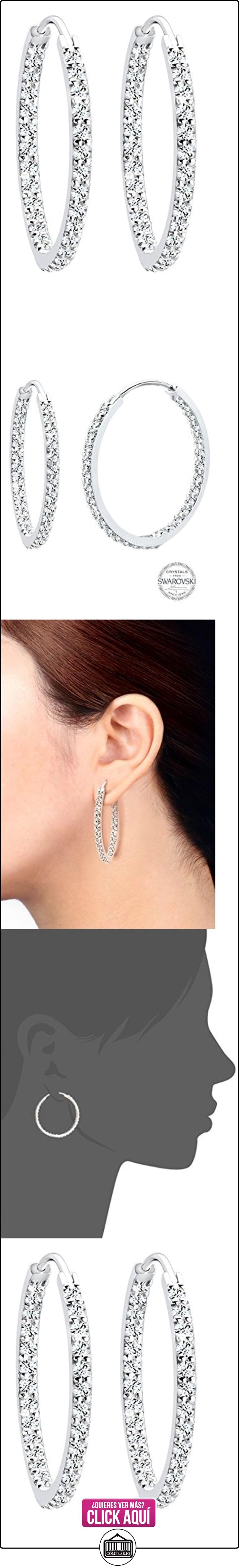 Elli - Pendientes de plata de ley con cristal de swarovski  ✿ Joyas para mujer - Las mejores ofertas ✿ ▬► Ver oferta: https://comprar.io/goto/B008BGLCZC