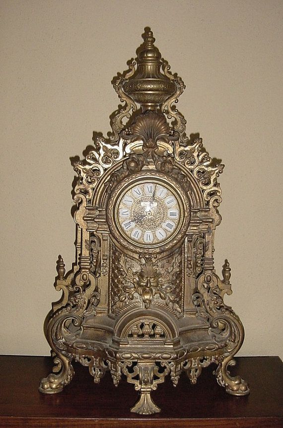 If We Only Knew Where This Italian Mantel Clock Was Reproduced And