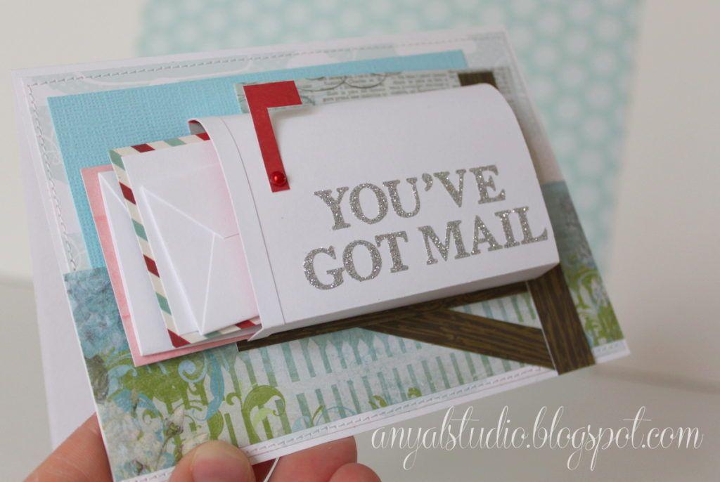 Diy Youve Got Mail Happy Birthday Card Unique Birthday Cards Card Mailbox Birthday Cards Diy