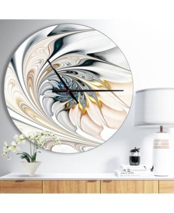 Design Art Designart Oversized Modern Round Metal Wall Clock Reviews Home Macy S In 2020 Wall Clock Modern Metal Wall Clock Wall Clock