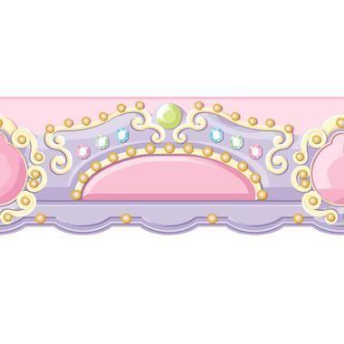 Ys9141bd Peek A Boo Carousel Topper Border Pink Lavender Gold Tone Green York Wallpaper Pink Flamingo Wallpaper Wallpaper Stores