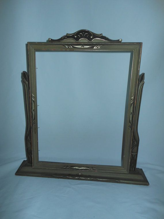 Sale Huge Antique Art Deco Swivel Frame Perfect For A Vanity