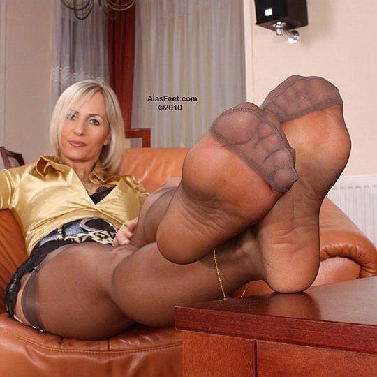 Think, that alas feet nylon video porno