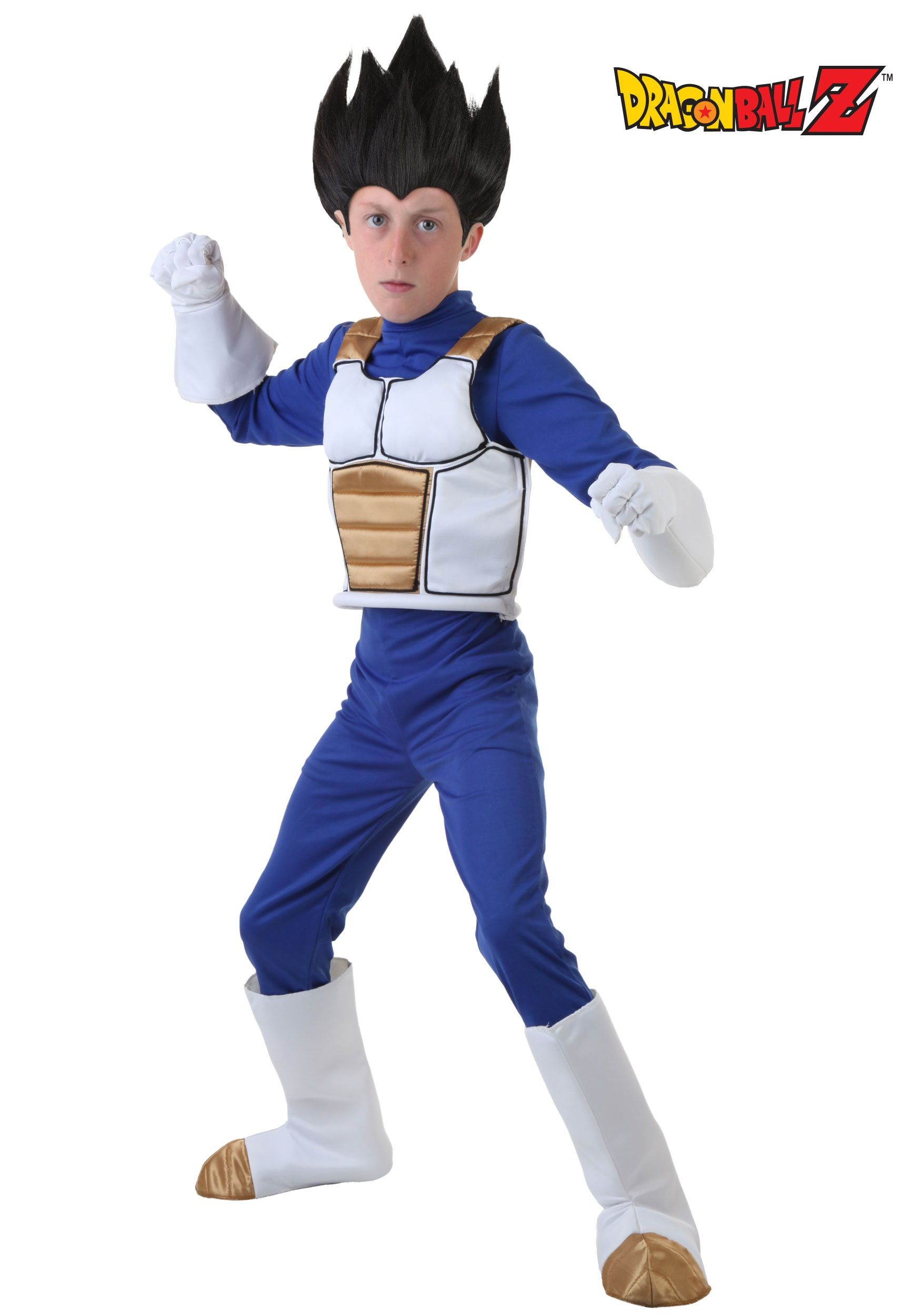 Dragon Ball Z Child Vegeta Costume | Costumes, Boy halloween ...