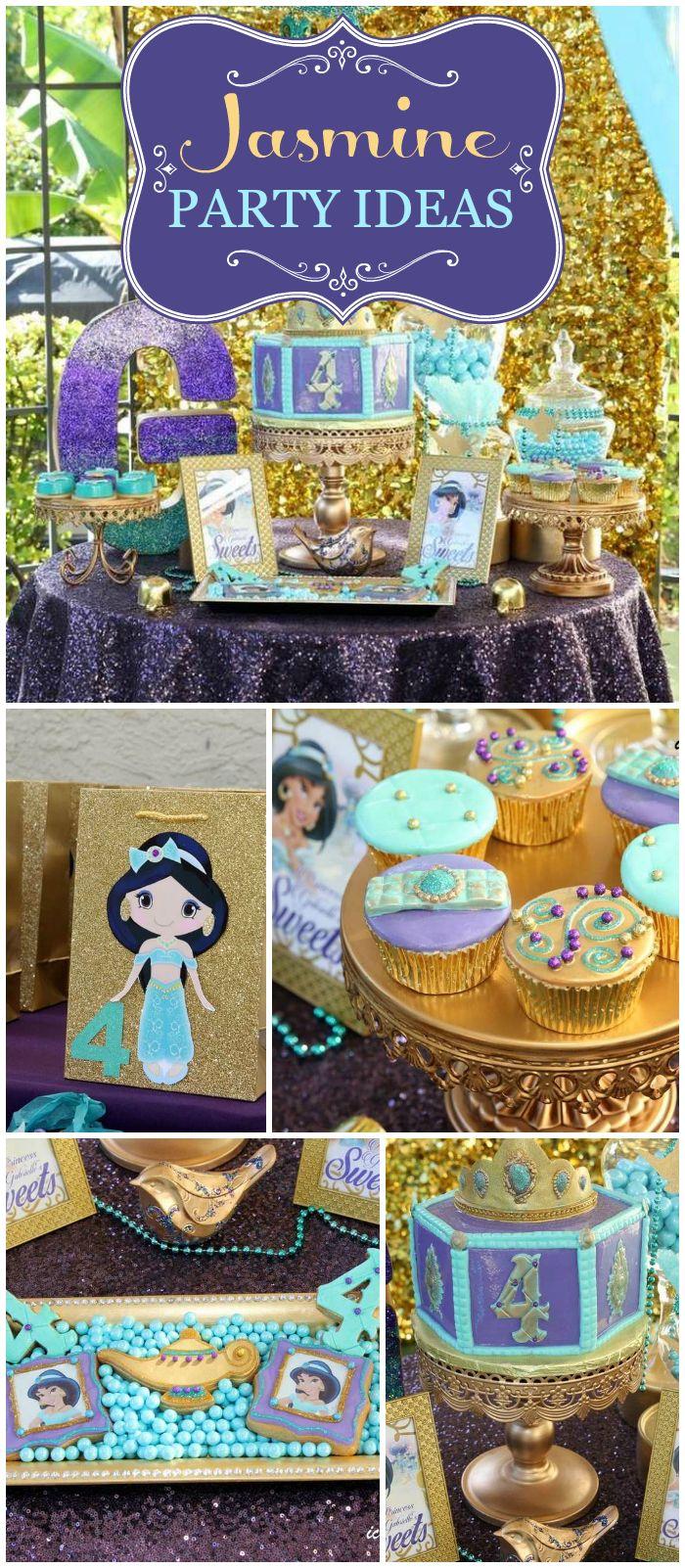 Princess Jasmine Birthday Party Decorations  from i.pinimg.com