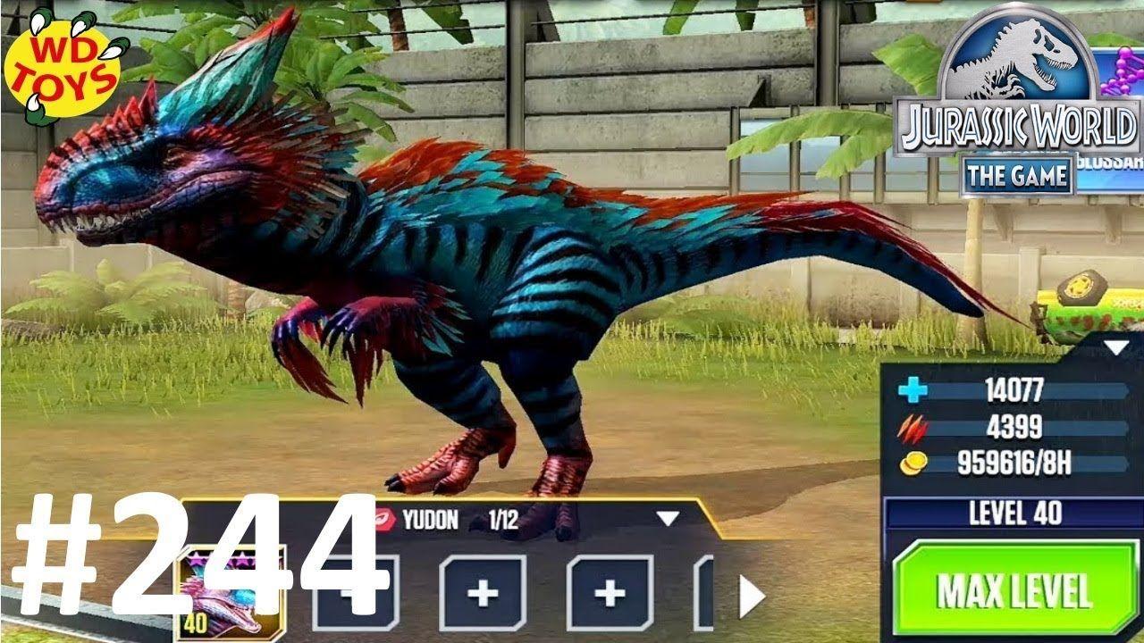 Pachyrhinosaurus Tournament!! Jurassic World The Game