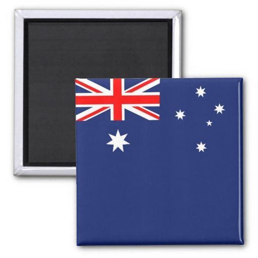 Flag Of Australia Magnet Zazzle Com Australian Flags Flag Australia