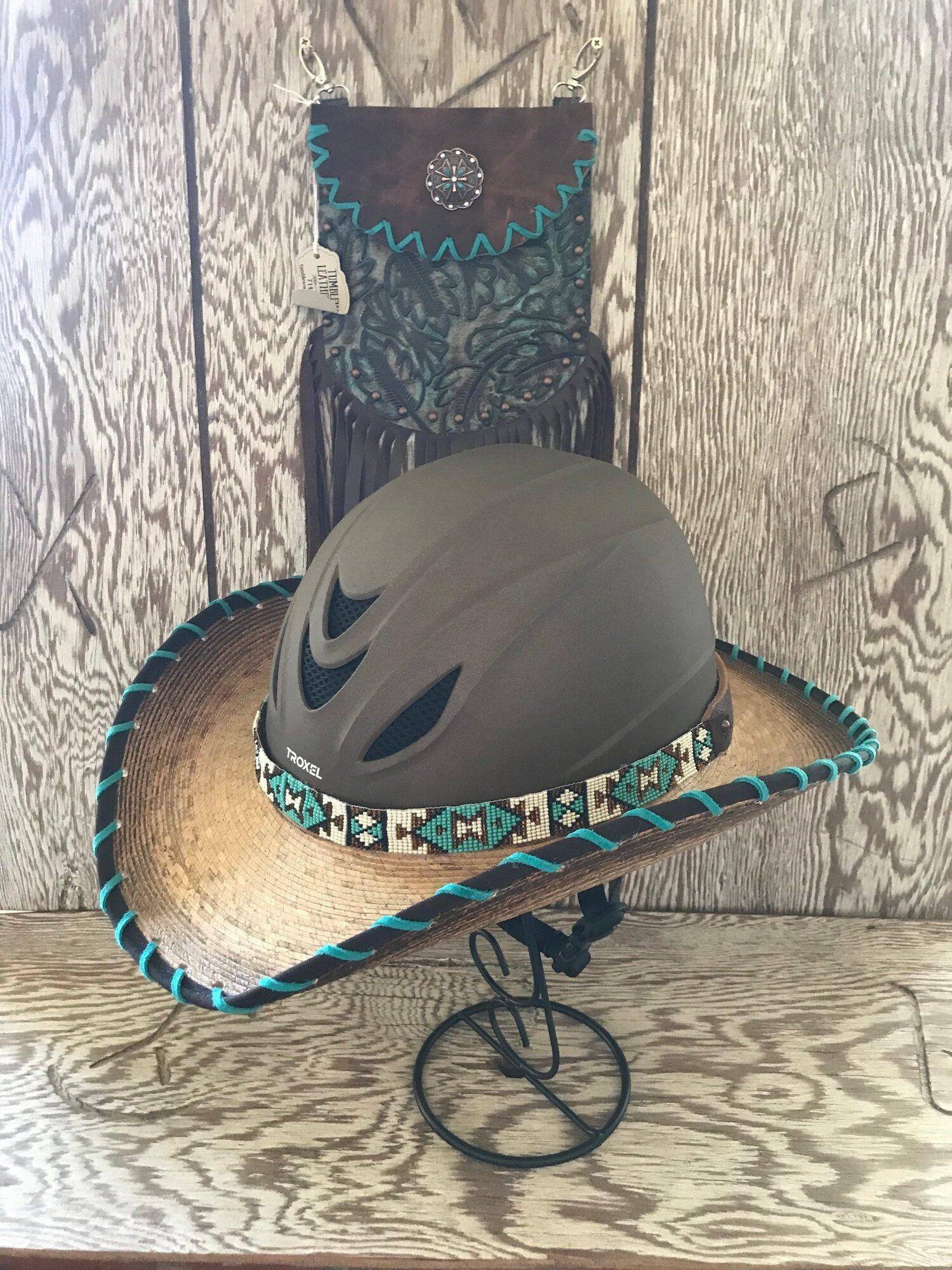 Shop Tumbleweed Leatherworks Tumbleweed Leatherworks Cowboy Hats Helmet Covers Western Helmet