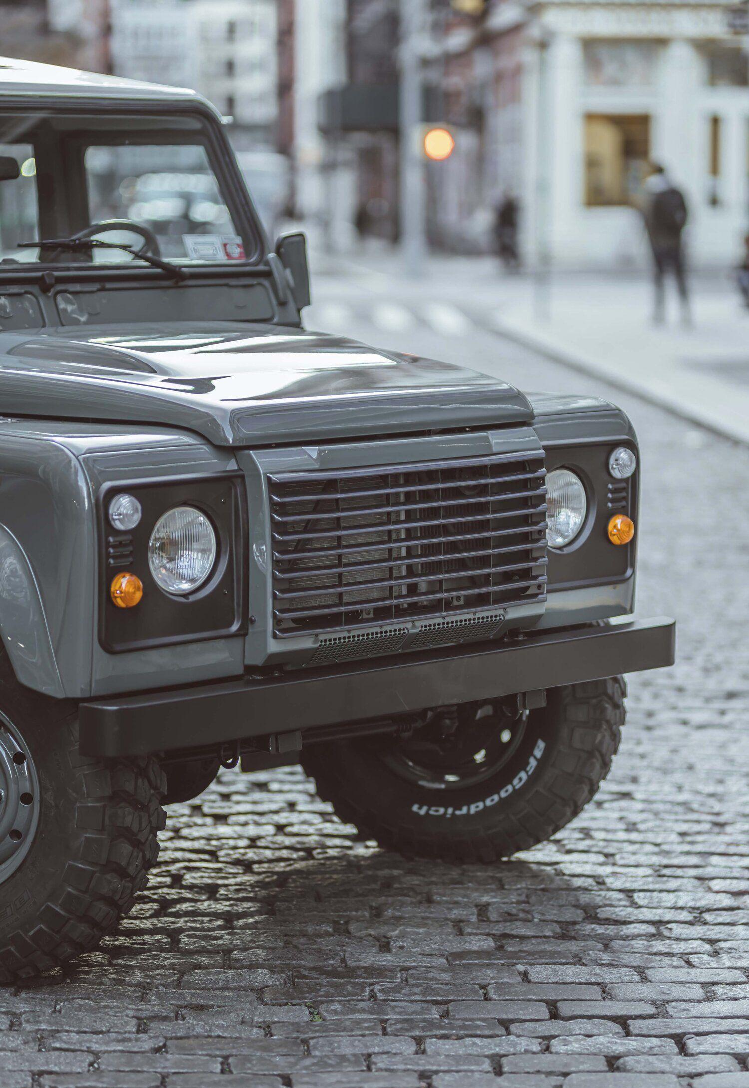 Defender 110 Keswick Green Brooklyn Coachworks In 2021 Defender 110 Land Rover Defender