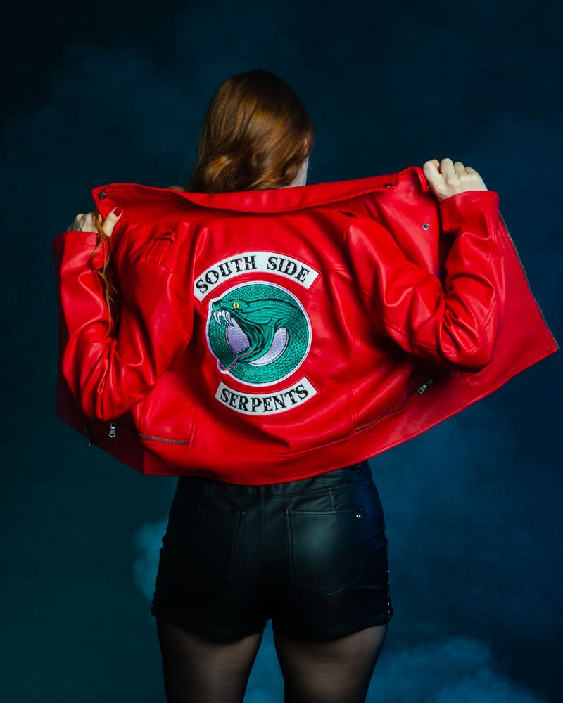 Riverdale Southside Serpents Cheryl Blossom Red Leather