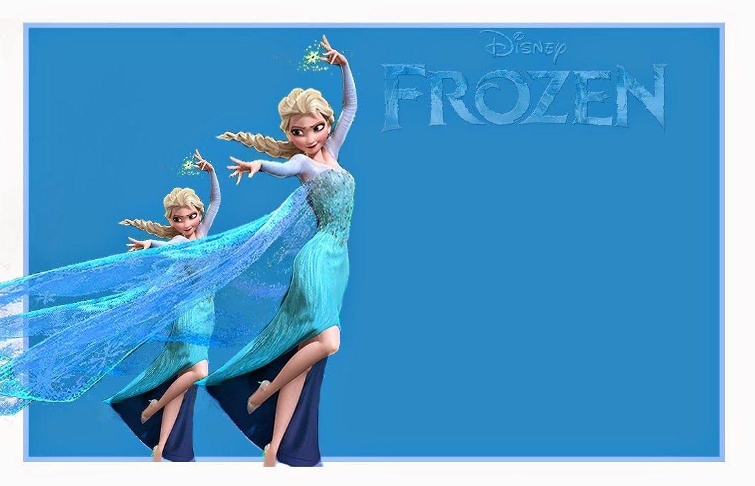 Preciosas Invitaciones de Frozen para Imprimir Gratis. | Ideas y material gratis para fiestas y celebraciones Oh My Fiesta!